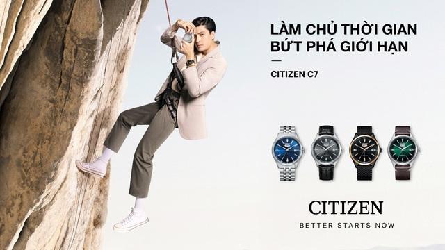 Citizen ra mắt đồng hồ C7 Automatic dịp năm mới cùng fashionista Châu Bùi - Ảnh 2.