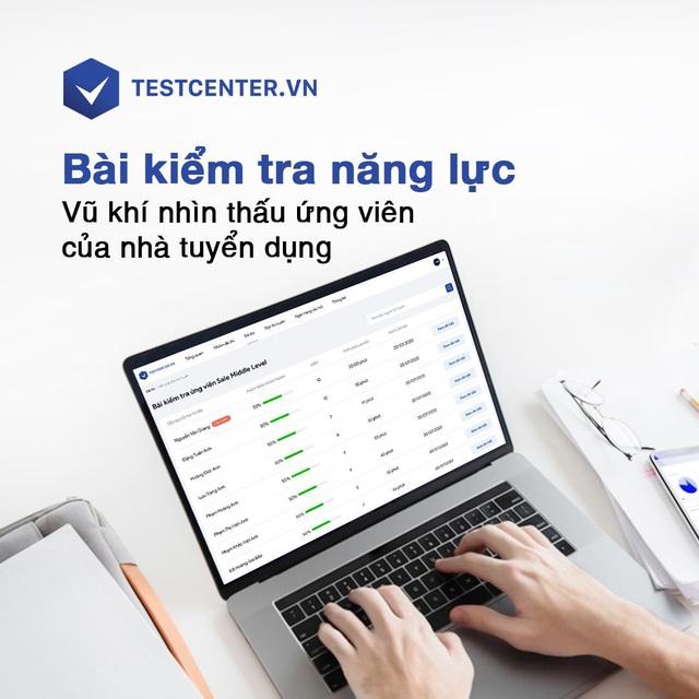 TopCV ra mắt sản phẩm TESTCENTER - Nền tảng đánh giá nhân sự toàn diện - Ảnh 1.