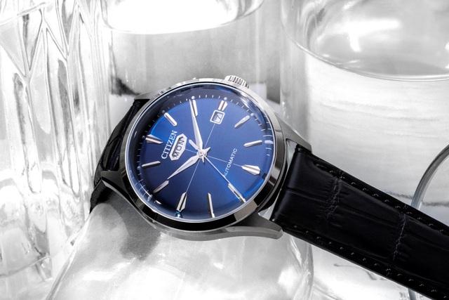 Citizen ra mắt đồng hồ C7 Automatic dịp năm mới cùng fashionista Châu Bùi - Ảnh 3.