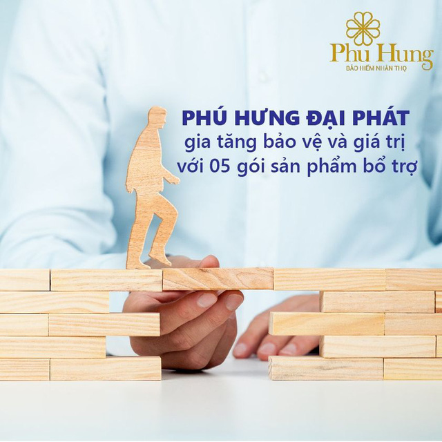 Phú Hưng Đại Phát - Sản phẩm bảo hiểm có tổng thưởng lên đến 600% phí cơ bản - Ảnh 1.