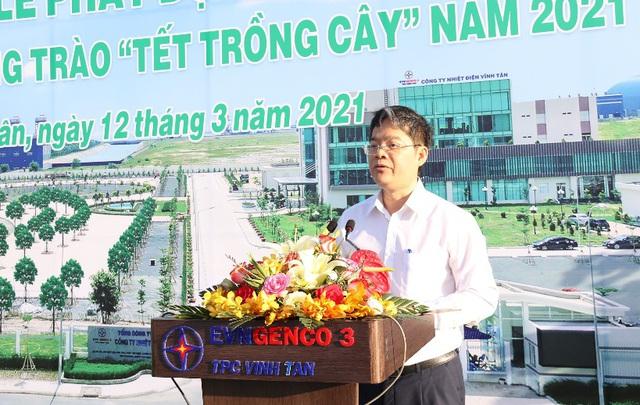 Phát động phong trào 'Tết trồng cây' tại Công ty Nhiệt điện Vĩnh Tân - Ảnh 1.