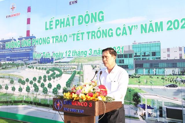 Phát động phong trào 'Tết trồng cây' tại Công ty Nhiệt điện Vĩnh Tân - Ảnh 2.