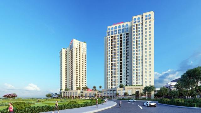 Đất Xanh Miền Bắc độc quyền phân phối dự án VCI Tower - Ảnh 1.