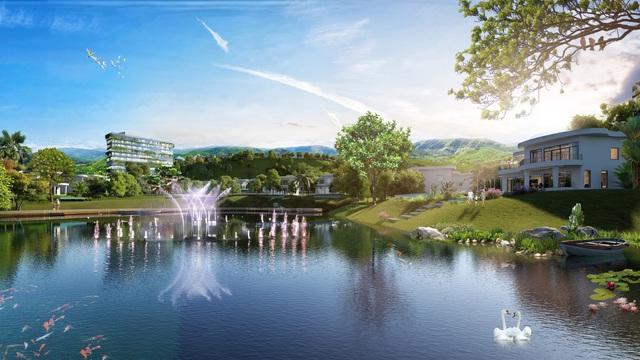 Hoà Bình: Nhiều nhà đầu tư đổ về bất động sản nghỉ dưỡng núi - Ảnh 1.