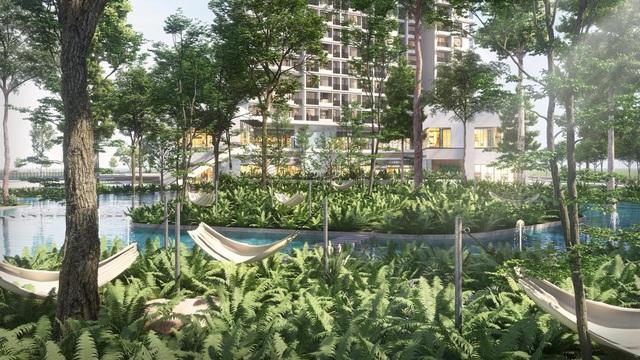 """Ecopark chi nghìn tỷ làm công viên cho 2 tòa tháp """"thiên nhiên"""" nhất khu đô thị - Ảnh 5."""