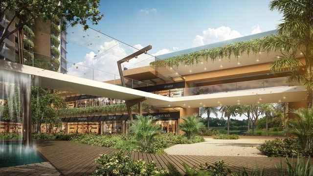"""Ecopark chi nghìn tỷ làm công viên cho 2 tòa tháp """"thiên nhiên"""" nhất khu đô thị - Ảnh 6."""
