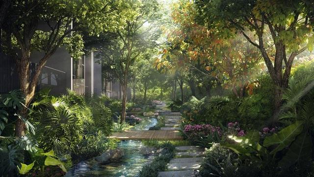 """Ecopark chi nghìn tỷ làm công viên cho 2 tòa tháp """"thiên nhiên"""" nhất khu đô thị - Ảnh 7."""