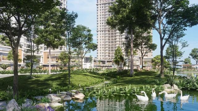 """Ecopark chi nghìn tỷ làm công viên cho 2 tòa tháp """"thiên nhiên"""" nhất khu đô thị - Ảnh 8."""