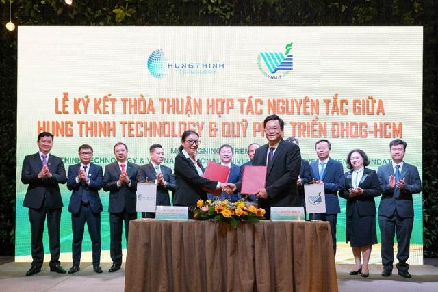 Tập đoàn Hưng Thịnh và ĐHQG-HCM ký kết hợp tác chiến lược - Ảnh 1.