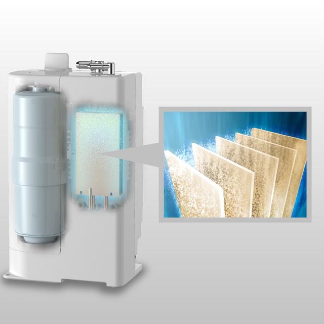 Khám phá máy lọc nước ion kiềm Panasonic TK-AB50 đẳng cấp thời thượng - Ảnh 2.