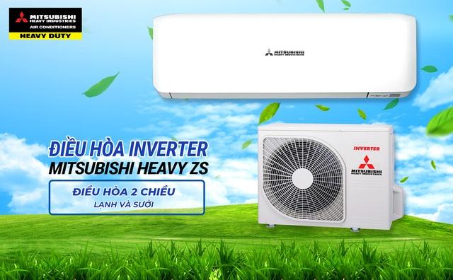 Đặng Văn Lâm giới thiệu các dòng điều hòa Mitsubishi Heavy Inverter tiết kiệm điện - Ảnh 2.