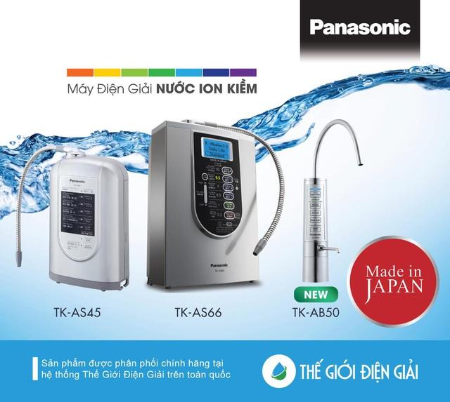Khám phá máy lọc nước ion kiềm Panasonic TK-AB50 đẳng cấp thời thượng - Ảnh 4.