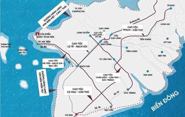Vị trí cửa ngõ chiến lược của Hà Tiên trong khu vực và Quốc tế