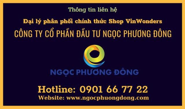 Ngọc Phương Đông đại lý phân phối chính thức shop Vinwonders - Ảnh 11.