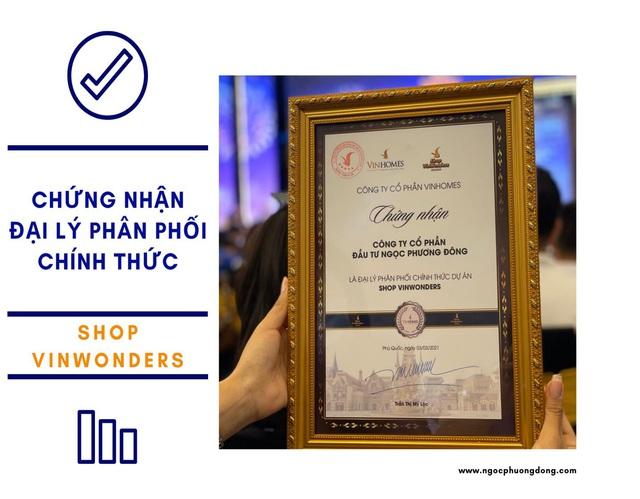 Ngọc Phương Đông đại lý phân phối chính thức shop Vinwonders - Ảnh 3.