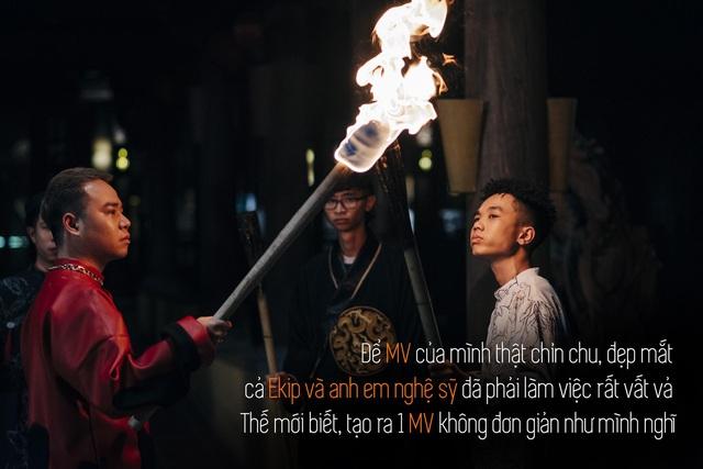 Quân R.E.V trải lòng sau MV Chí Nam Nhi: Tôi tự đẩy mình vào thử thách, làm rap nhưng phải đậm chất Việt Nam - ảnh 3