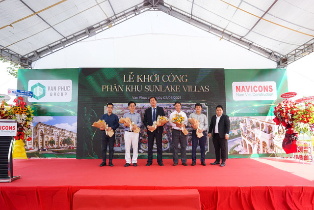 Van Phuc City에 Sunlake Villas 구획 건설 시작-사진 2.