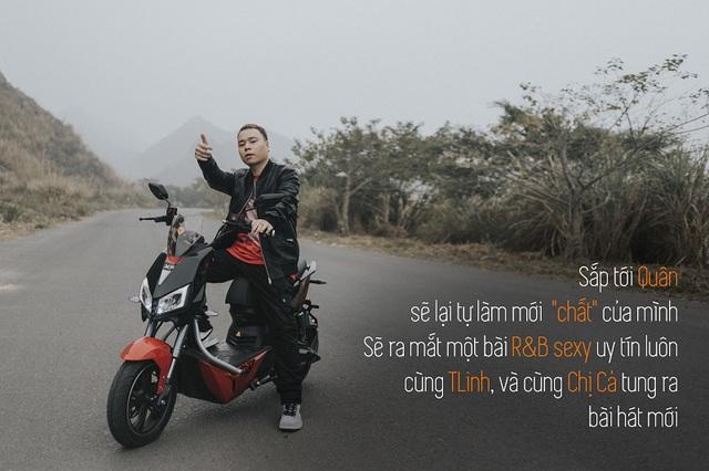 Quân R.E.V trải lòng sau MV Chí Nam Nhi: Tôi tự đẩy mình vào thử thách, làm rap nhưng phải đậm chất Việt Nam - ảnh 6