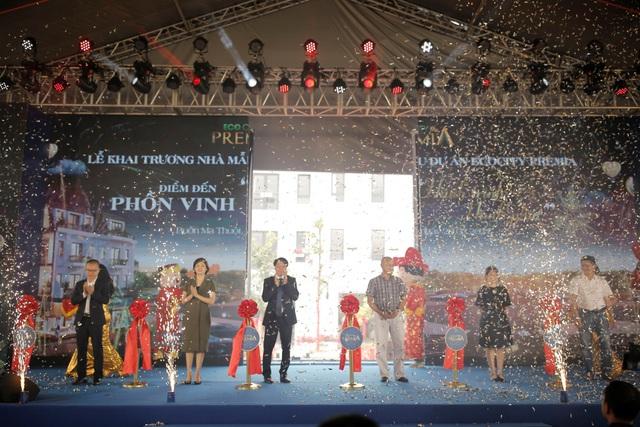 Ấn tượng lễ khai trương nhà mẫu dự án Ecocity Premia - Ảnh 1.
