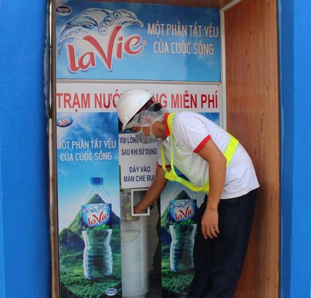 La Vie đặt mục tiêu hoàn trả 100% nước sử dụng cho sản xuất đến năm 2025 - Ảnh 1.