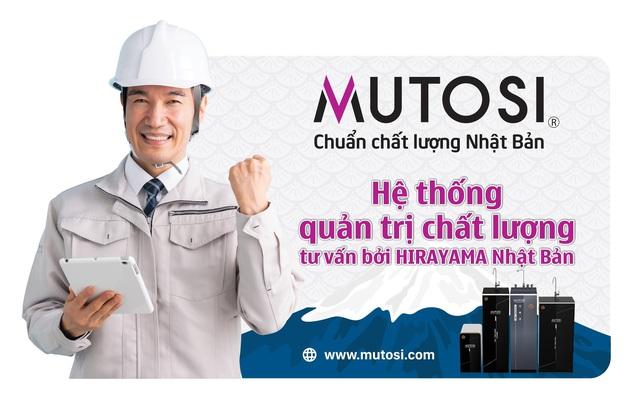Hirayama hợp tác Mutosi Group, chính thức trở thành cố vấn Chuẩn chất lượng Nhật Bản - Ảnh 2.