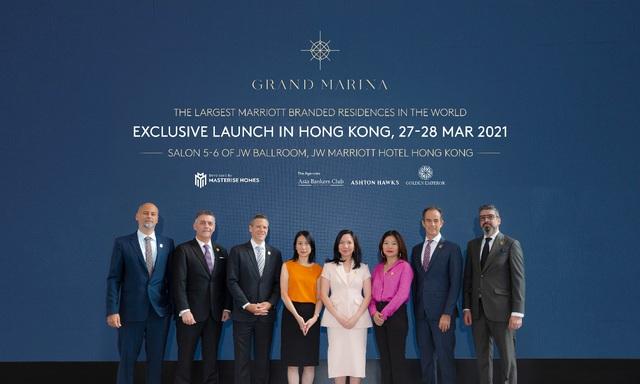 Grand Marina, Saigon lộ diện ở Hong Kong đầu tiên - Ảnh 2.