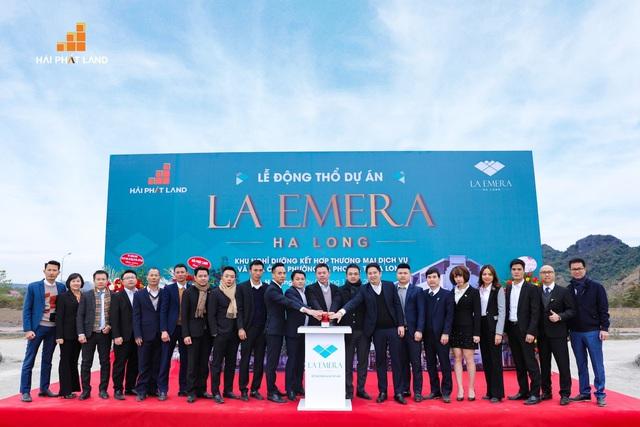 """Lễ động thổ dự án La Emera Hạ Long – Cái tên """"hot"""" đang được giới đầu tư săn đón."""