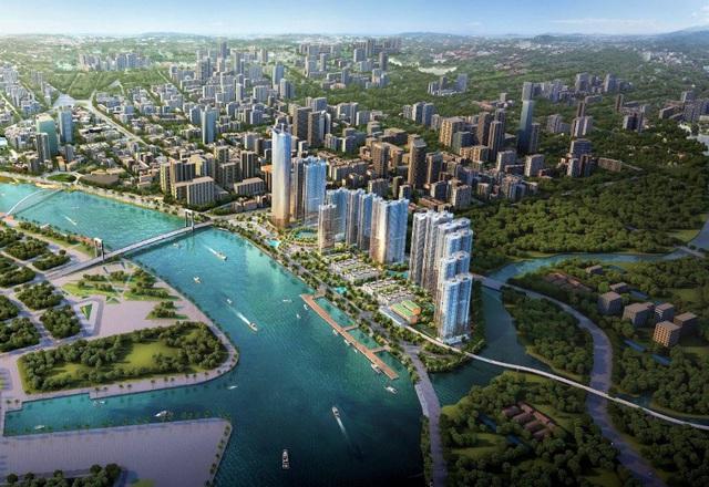Delta Group động thổ khu bất động sản hàng hiệu Grand Marina Saigon - Ảnh 1.
