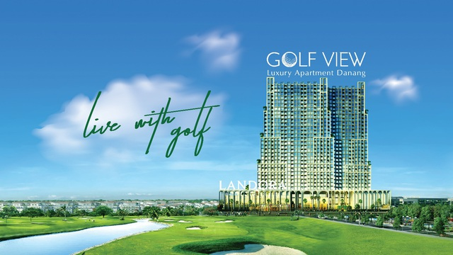 Chung cư cao cấp Golf View Luxury Apartment Danang đã cất nóc và đi vào hoàn thiện