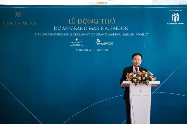 Delta Group động thổ khu bất động sản hàng hiệu Grand Marina Saigon - Ảnh 3.