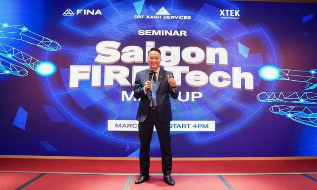 100 CEO đầu ngành fintech & proptech tham dự Dat Xanh Services Techday - Ảnh 2.