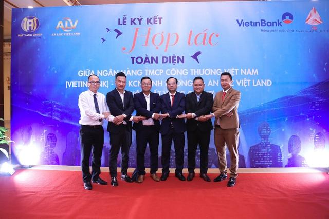 An Lạc Việt Land và Vietinbank ký kết hợp tác toàn diện - Ảnh 2.