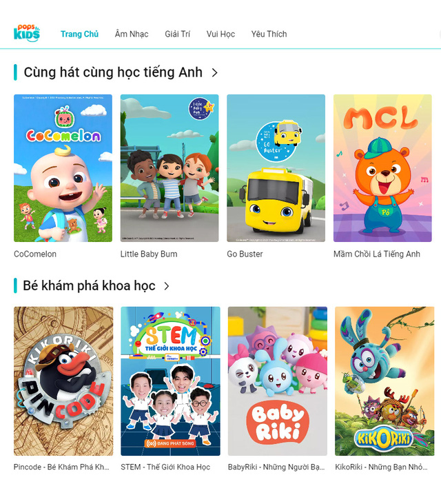 Ứng dụng POPS Kids tung ra phiên bản website: Hơn 30.000 video vui học nổi tiếng và an toàn cho trẻ - Ảnh 3.