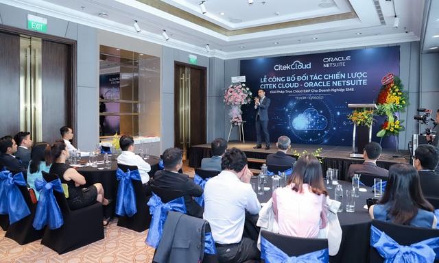 Citek Cloud giới thiệu giải pháp ERP Oracle NetSuite cho doanh nghiệp SME - Ảnh 2.