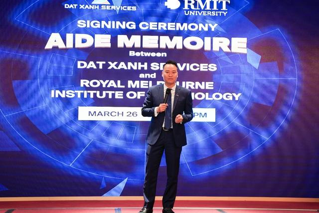 Dat Xanh Services hợp tác chiến lược với RMIT Melbourne nghiên cứu trí tuệ nhân tạo - Ảnh 1.