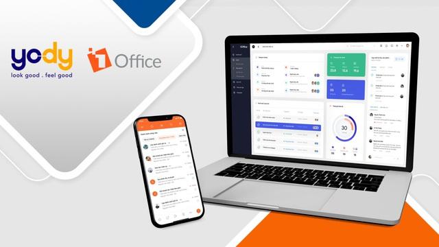 Yody ứng dụng 1Office quản trị nguồn nhân lực và quy trình công việc - Ảnh 1.