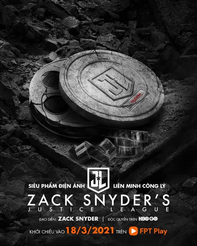 Justice League phiên bản 2021 của Zack Snyder công chiếu trực tuyến độc quyền tại HBO Go trên FPT Play - ảnh 2