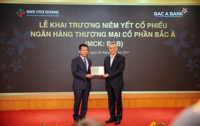 BAC A BANK chính thức niêm yết cổ phiếu trên sàn HNX - Ảnh 1.