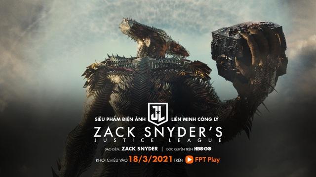 Justice League phiên bản 2021 của Zack Snyder công chiếu trực tuyến độc quyền tại HBO Go trên FPT Play - ảnh 3