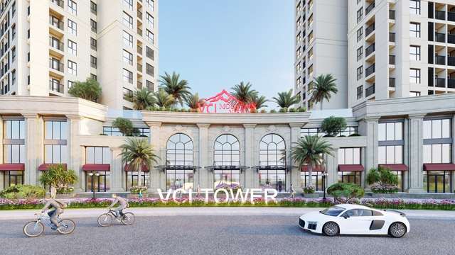 Đất Xanh Miền Bắc độc quyền phân phối khối đế thương mại VCI Tower Vĩnh Yên - Ảnh 1.