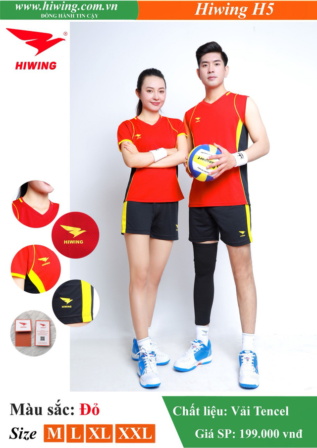 Quần áo bóng chuyền Hiwing - Khi thể thao đi liền phong cách - Ảnh 1.