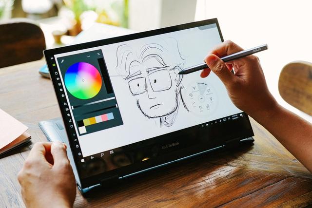 Đánh giá ZenBook Flip 13 UX363: Laptop đa dụng cho vân văn phòng, linh hoạt, pin trâu, màn hình OLED là điểm sáng - Ảnh 3.