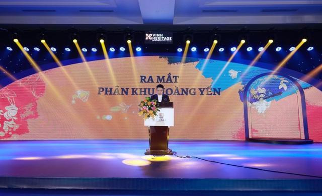 Mở bán phân khu Hoàng yến dự án Vinh heritage thu hút hơn 400 khách hàng tham dự - Ảnh 1.