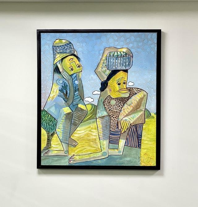 """""""Nghệ thuật đảo ngược"""" từ phòng tranh triển lãm đến ý nghĩa cuộc sống - Ảnh 2."""