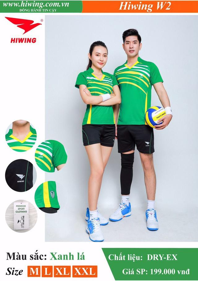 Quần áo bóng chuyền Hiwing - Khi thể thao đi liền phong cách - Ảnh 2.