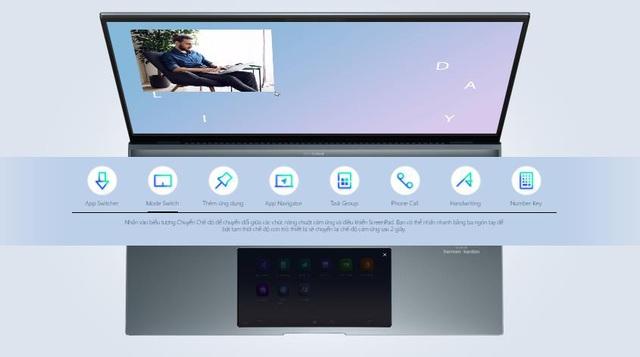 ASUS ZenBook 14 UX435: Nâng cao khả năng đa nhiệm với màn hình phụ giống smartphone cùng diện mạo gọn nhẹ - Ảnh 3.