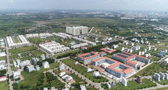 Thị trường bất động sản Bình Chánh khởi sắc trước thông tin lên quận - Ảnh 2.