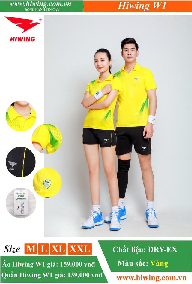 Quần áo bóng chuyền Hiwing - Khi thể thao đi liền phong cách - Ảnh 4.