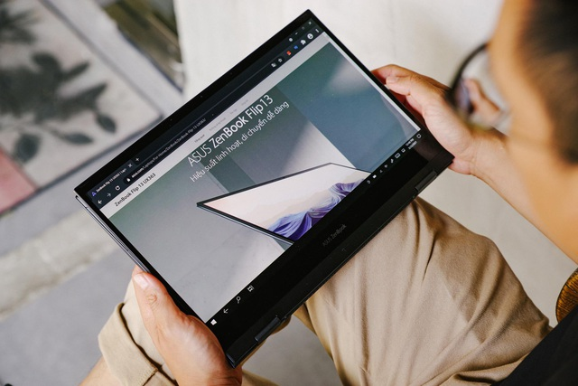Đánh giá ZenBook Flip 13 UX363: Laptop đa dụng cho vân văn phòng, linh hoạt, pin trâu, màn hình OLED là điểm sáng - Ảnh 6.