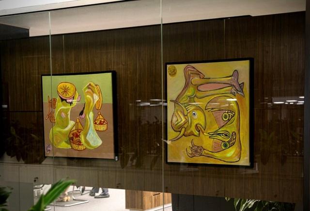 """""""Nghệ thuật đảo ngược"""" từ phòng tranh triển lãm đến ý nghĩa cuộc sống - Ảnh 4."""